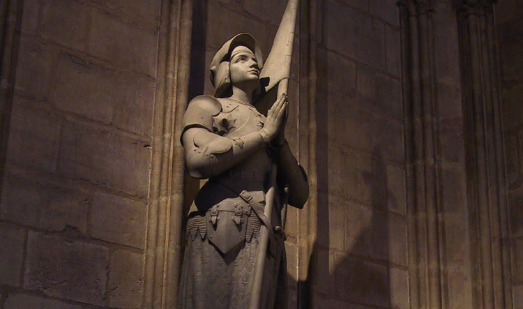 Joan of Arc - Notre Dame Cathedral