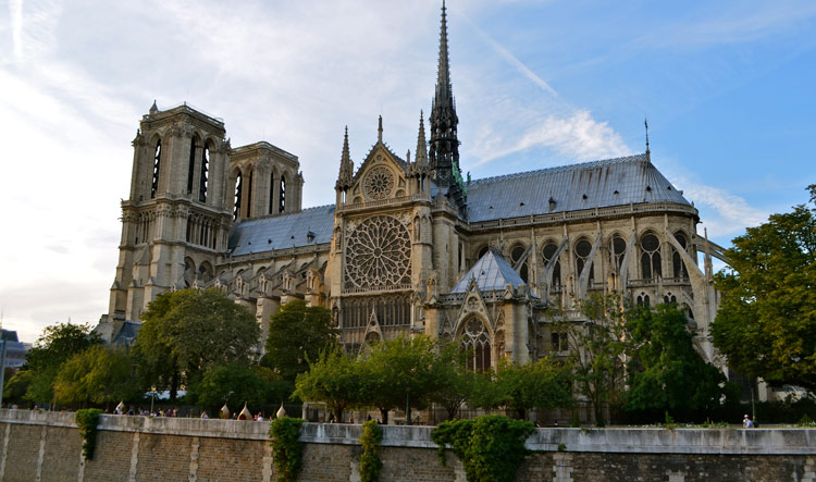 View of Notre Dame from the South