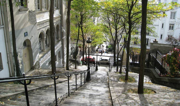 Famous Montmartre Stairs