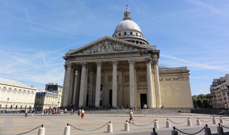 Panoramic view of the Pantheon