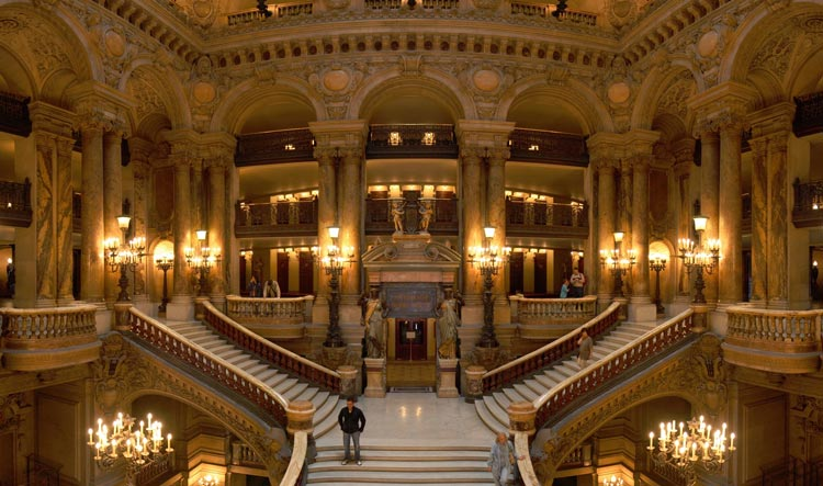 Opera Garnier - Beautiful Stairs