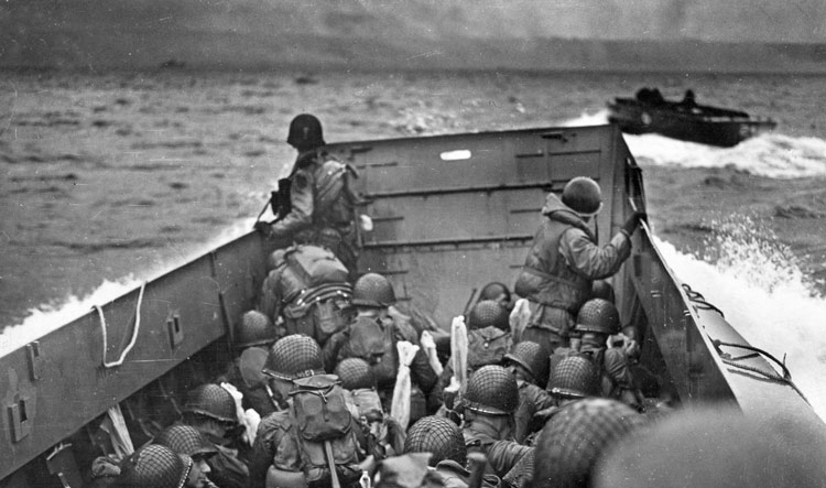D-Day in Normandy - Landing