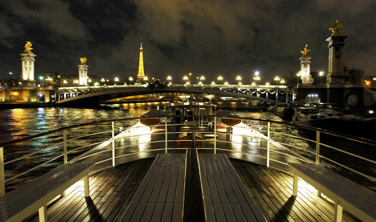 Luxury Dinner Cruise On The Seine River  Unique Paris Private Tours